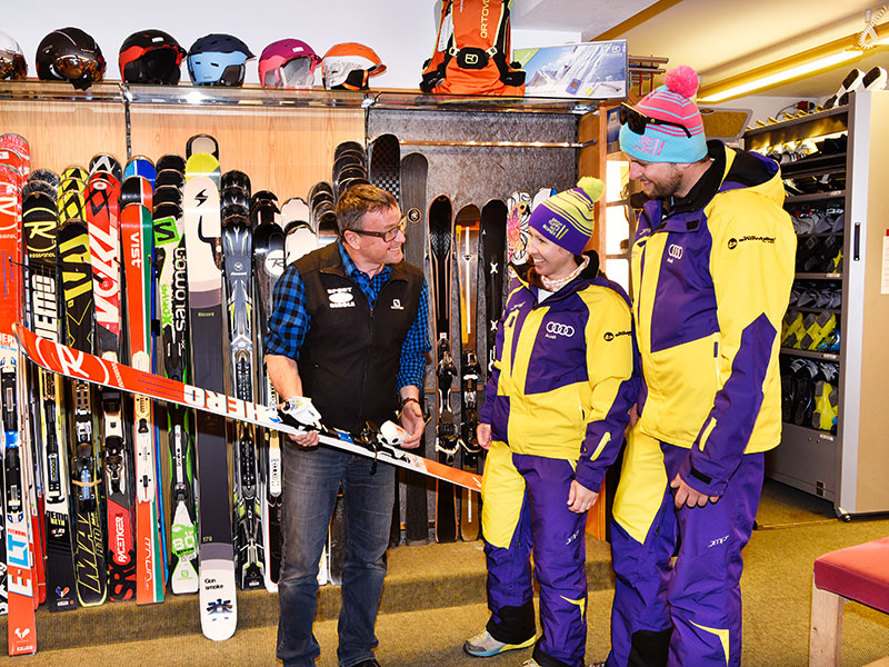 Advice from the ski rental expert