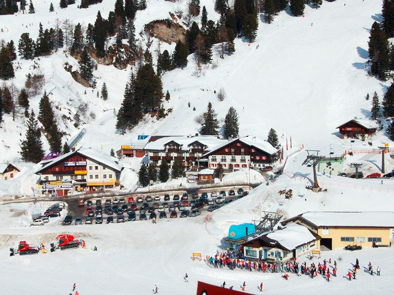 Our ski rental shop directly by the valley station